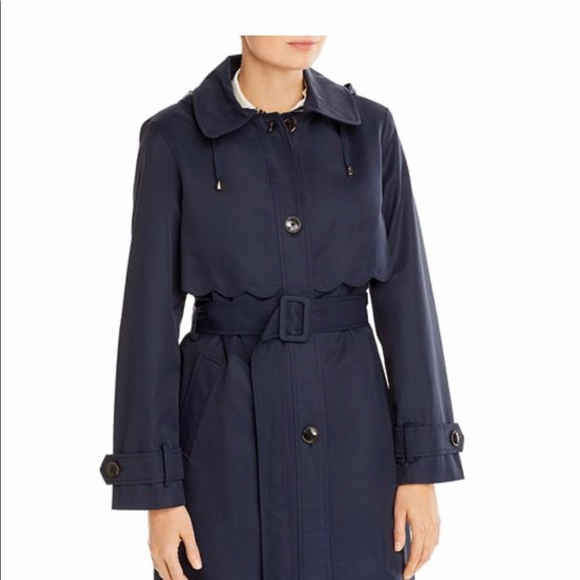 NWT Kate Spade Single-Breasted Belted Trench Small